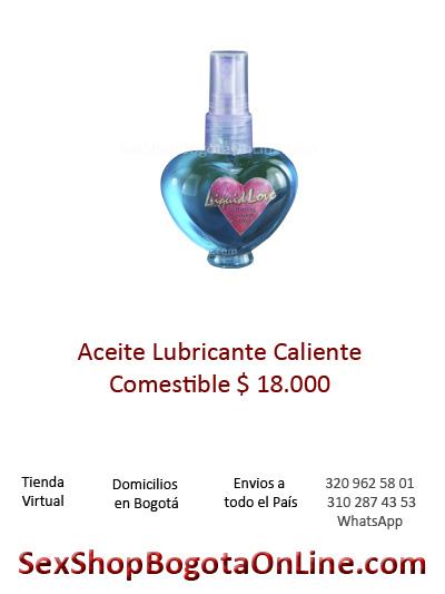 aceite lubricante caliente comestible sex shop bogota online sexo relacion tiend virtual envios pereira cali barranquilla pasto colombia hombre muje