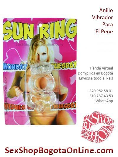 anillo sun ring vibrador placer masculino femenino domicilios bogota restrepo tunal tintal lourdes chapinero suba