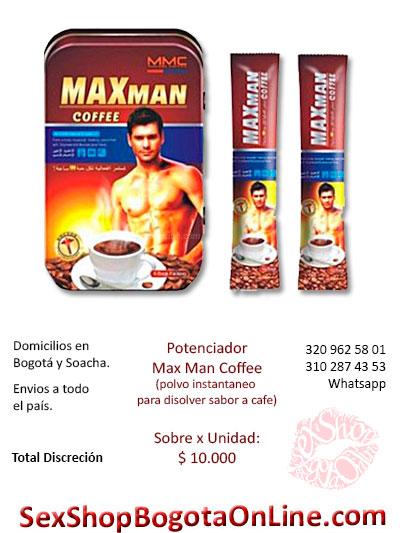 cafe potenciador instataneo polvo masculino discreto venta online domicilios bogota huila valle fusa chapinero yopal suba bosa colombia