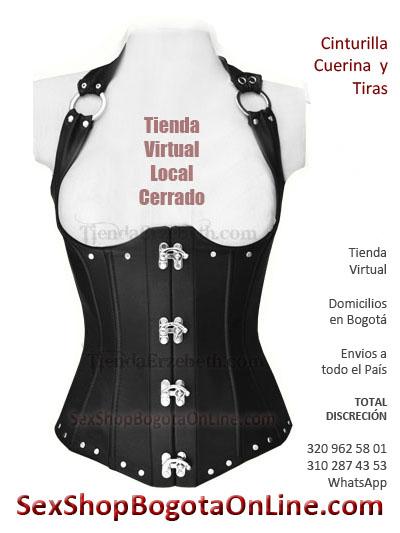 cinturilla alta cuerina sexy bogota sex shop fetichismo morbo vibrador femenina sex shop medellin cali manizales pereira envigado cartegena