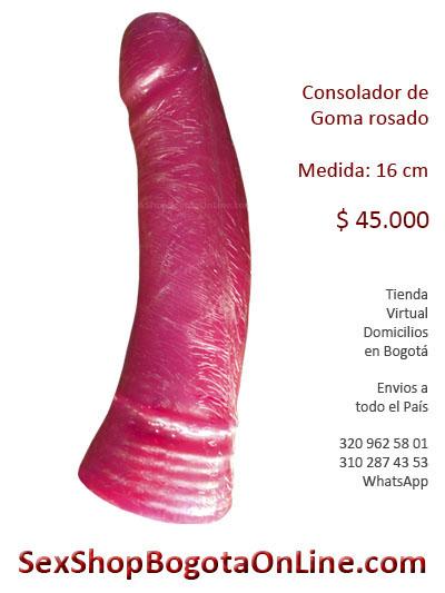 consolador goma barato sex shop colombia bogota envios erzebeth online tienda erotico hombre mujer rosado