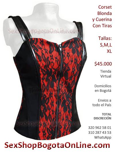 corset rojo sexy delicado femenino erotico sensual erogeno morboso enivos medellin cali bogota barranquilla santander ipiales