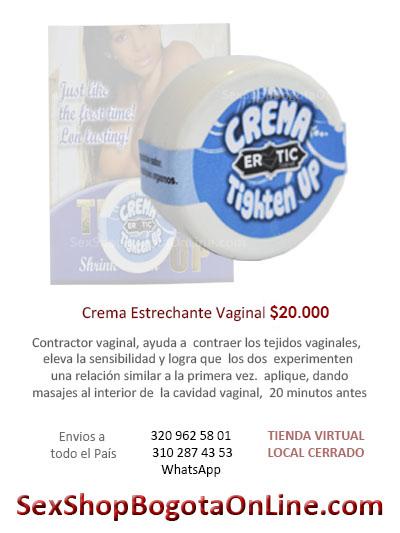 crema vaginal estrechante sensasacion juguete sexual bogota online enomico barato mujer femenino ventas cali medellin colombia