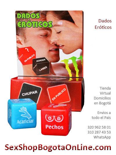 dados eroticos juegos sex shop diversion envios colombia bogota cali medellin excitante