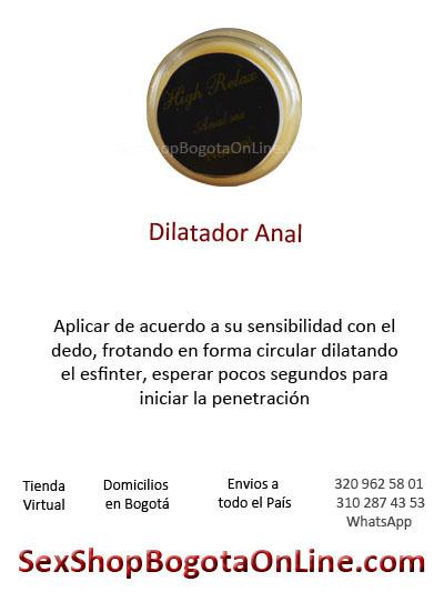 dilatador anal sensibilidad ano placer circular gel pomada sexo sexual relacion domicilios online bogota cali medellin antioquia pasto
