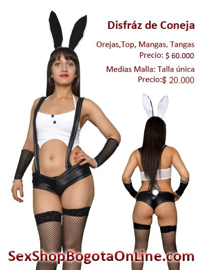 disfraz coneja bogota sex shop eroticos sensuales provocadores erotismo prendas femeninas tienda online domicilios envios giros local medellin cali pasto tunja