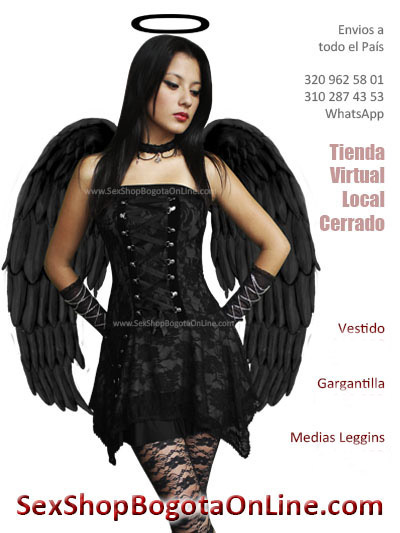 disfraz de angel negro en bogota medellin cali soacha manizales pereira cucuta barranquilla cartagena ipiales ibague