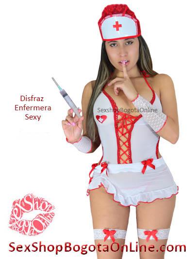 disfraz enfermera sexy chica sex shop bogota online lenceria erotica venta online  domicilios soacha usme suba banderas quirigua restrepo olaya tunal colombia