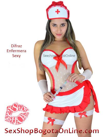 disfraz enfermera sexy chica erotica venta online domicilios bogota huila manizales pereira valle monteria villavicencio colombia