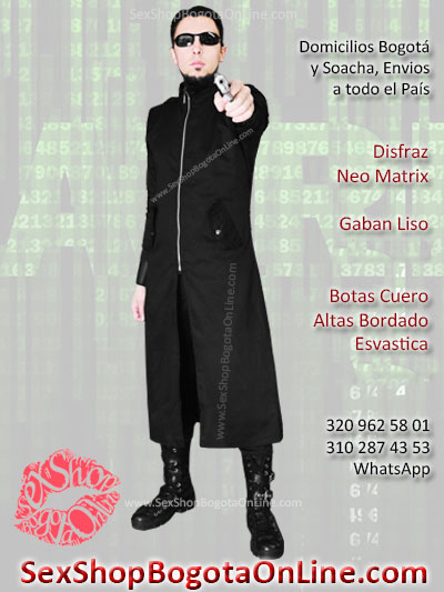 disfraz neo matrix masculino economico gaban botas venta online envios bogota noche brujas soacha medellin cali manizales pereira