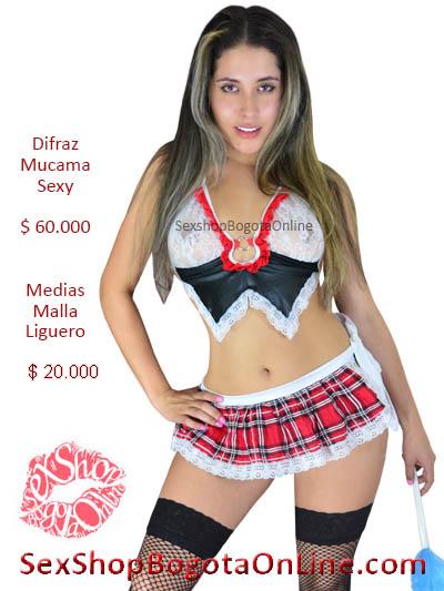 disfraz mucama erotica chica sexy sex shop bogota online domicilios venta lenceria bogota huia cesar casanare pereira manizales boyaca santander colombia