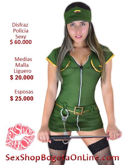 disfraz policia sexy chica erotico pareja juegos venta online sex shop bogota domicilios bogota huila santander pereira yopal popayan cartago monteria villavicencio colombia