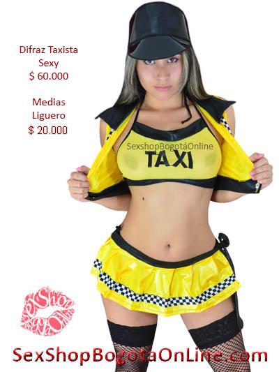 disfraz taxista chica sexy erotico venta online sexshop bogota tienda bogota huila pasto mosquera quindio medellin sincelejo valledupar caldas mosquera colombia