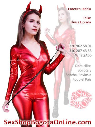 disfraz erotico diabla enterizo juego sexy venta online envios bogota cartagena medellin neiva cucuta pereita cali colombia