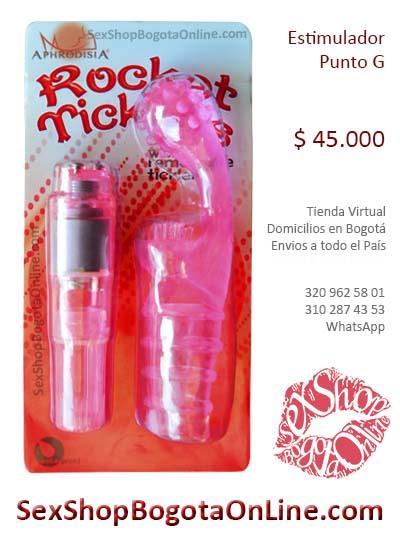 estimulador punto g rocket placer femenino domicilios bogota soacha colombia medellin manizales cali cartagena