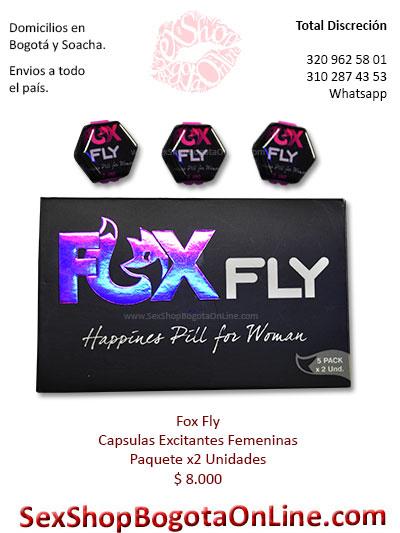 excitante femenino fox fly capsulas x2 venta online economico deseo sexual alto aumenta domicilios valle tunja boyaca zipaquira colombia
