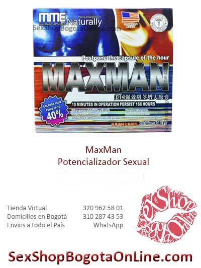 potencializador maxman sex shop online masculino sexual envios bogota medellin colombia cali cartagena cucuta pasto ventas por mayor
