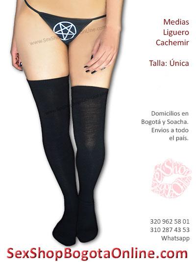 mediasa cahcemir negra liguero sexy economica venta tienda online sex shop erotica bogota envios caldas funza cesar santander bolivar colombia