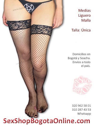 medias malla liguero negras bonitas economicas sexys lenceria sex shop sensuales juegos pareja disfraz venta domicilios yopal villeta casanere colombia