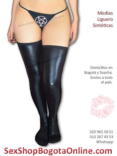 medias sinteticas sexys liguero sensuales eroticas lenceria femenina sex shop online ventas bogota valledupar sinceljeo narino manizales colombia
