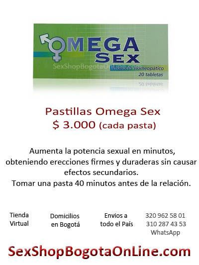 omega sex pastillas tablets bogota sex shop medicina potencia sexual masculina hombre prolongacion retardante pene miembro