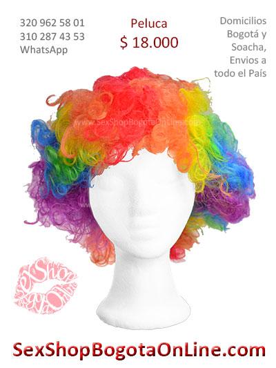 peluca payaso sex shop economica venta online domicilios bogota y soacha envios colombia