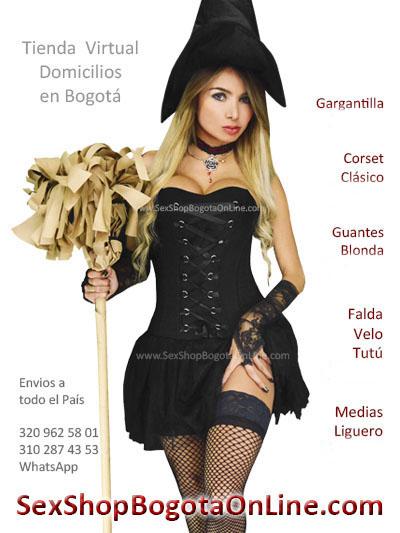 prendas atuendo bruja disfraz vestimenta barato halloween dama fabrica bodega mayorista ventas por mayor colombia ipiales