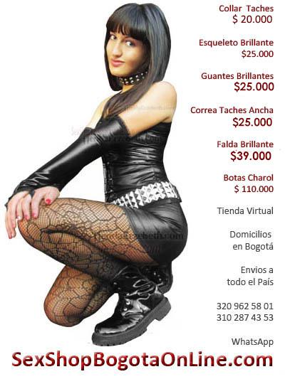 sexy falda sex shop guantes brillantes medias correa imitacion sintetico cuero economico envios dama pereira cali armenia quindio cajica venecia soacha
