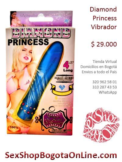 vibrador diamond princess azul placer mujer domicilios colombia bogota cali medellin cucuta pasto santander soacha